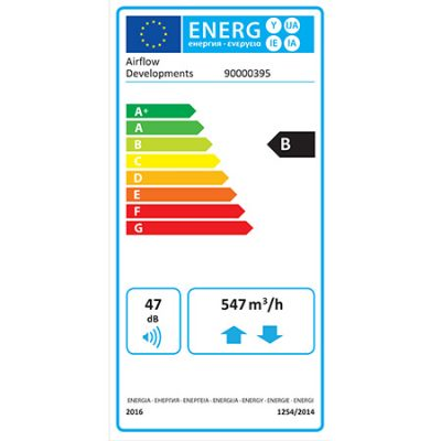 airflow dv145 Adroit erp product label
