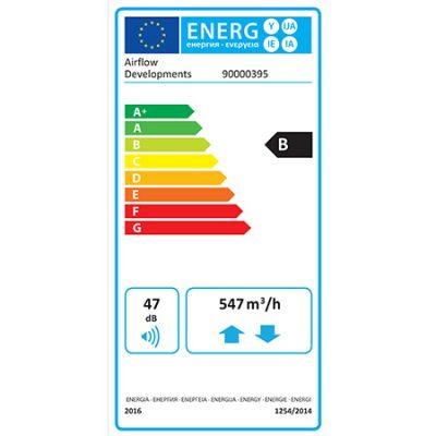 Airflow dv145se erp product label