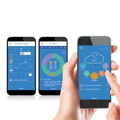 aldes InspirAir connect image on smartphone
