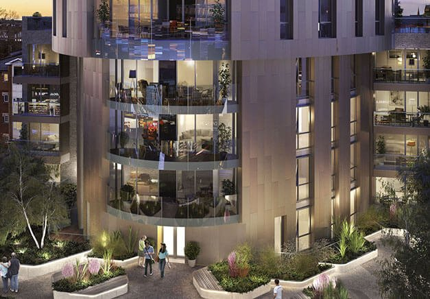 Aerhaus current project fifty seven east