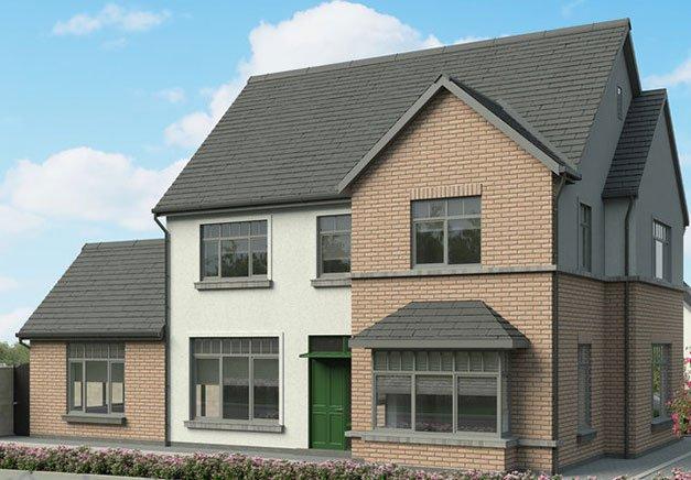 two-storey house development plan