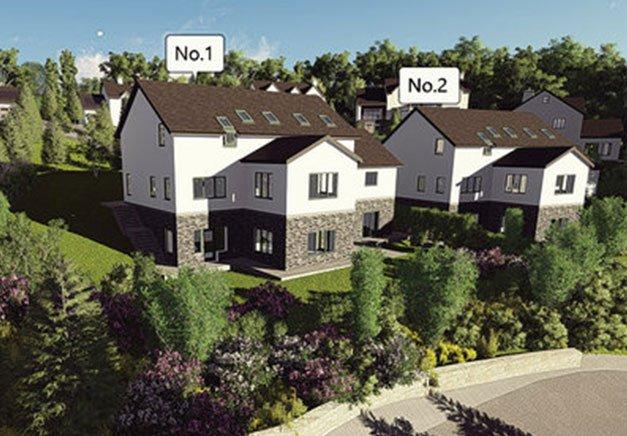 Graphics picture of housing development plans