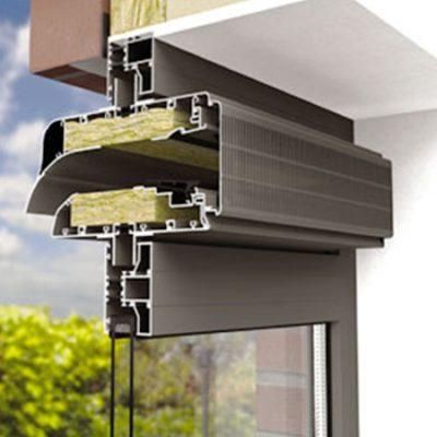 Aerhaus glazed in vents