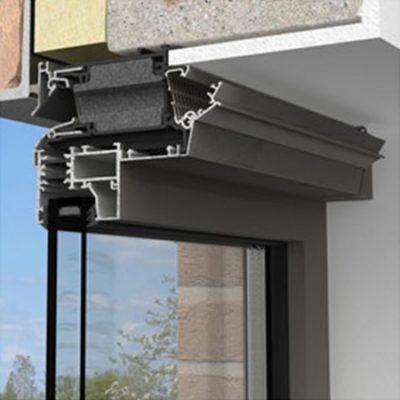 Aerhaus over frame window vents